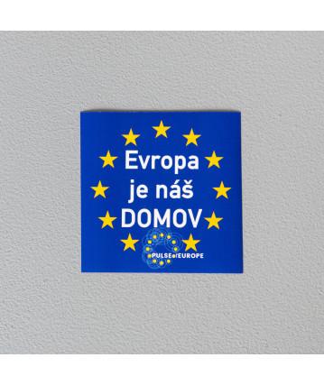 Evropa je náš domov - 5ks   omyvatelná